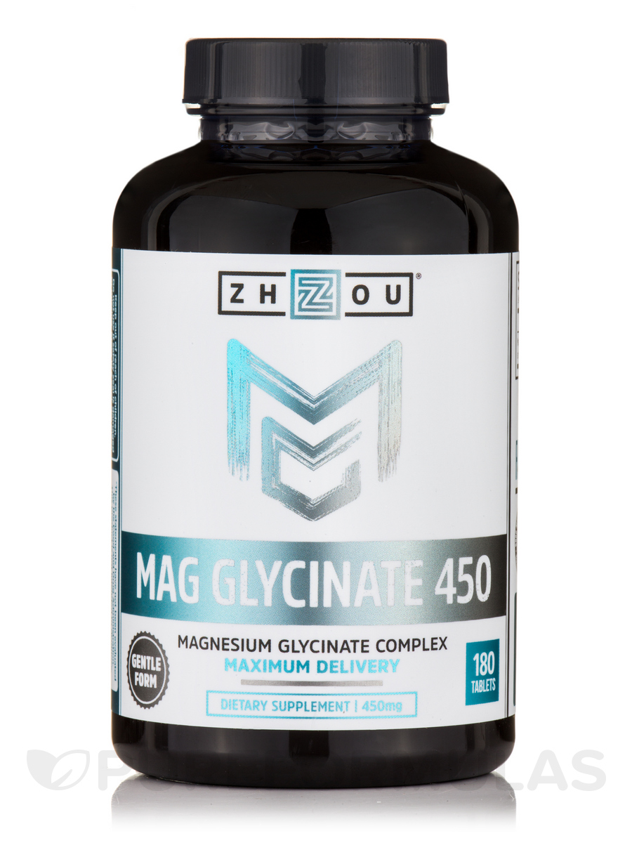 Mag Glycinate 450 mg - 180 Tablets