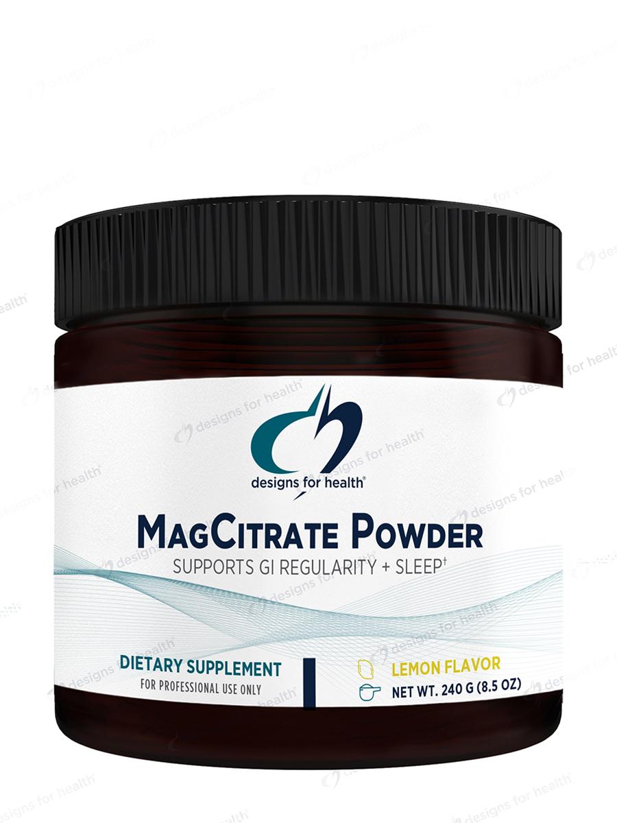 MagCitrate Powder Lemon Flavor - 8 oz (240 Grams)