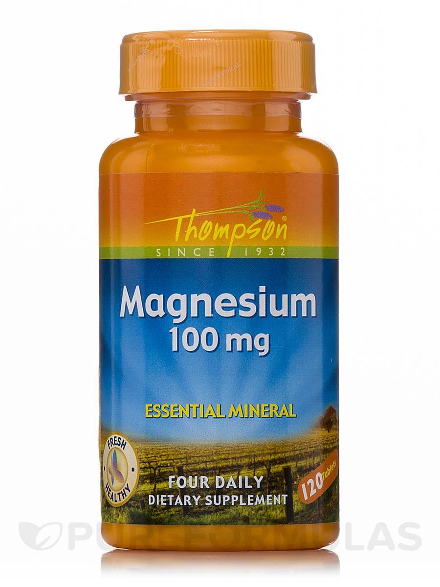 Magnesium 100 mg - 120 Tablets