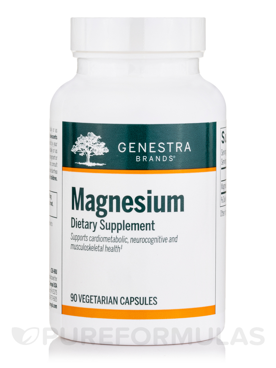 Magnesium - 90 Vegetable Capsules