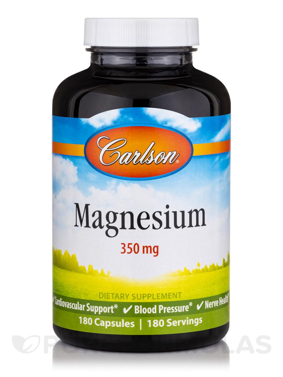 Magnesium 350 mg - 180 Capsules