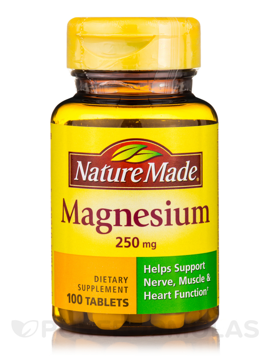 Magnesium 250 mg - 100 Tablets