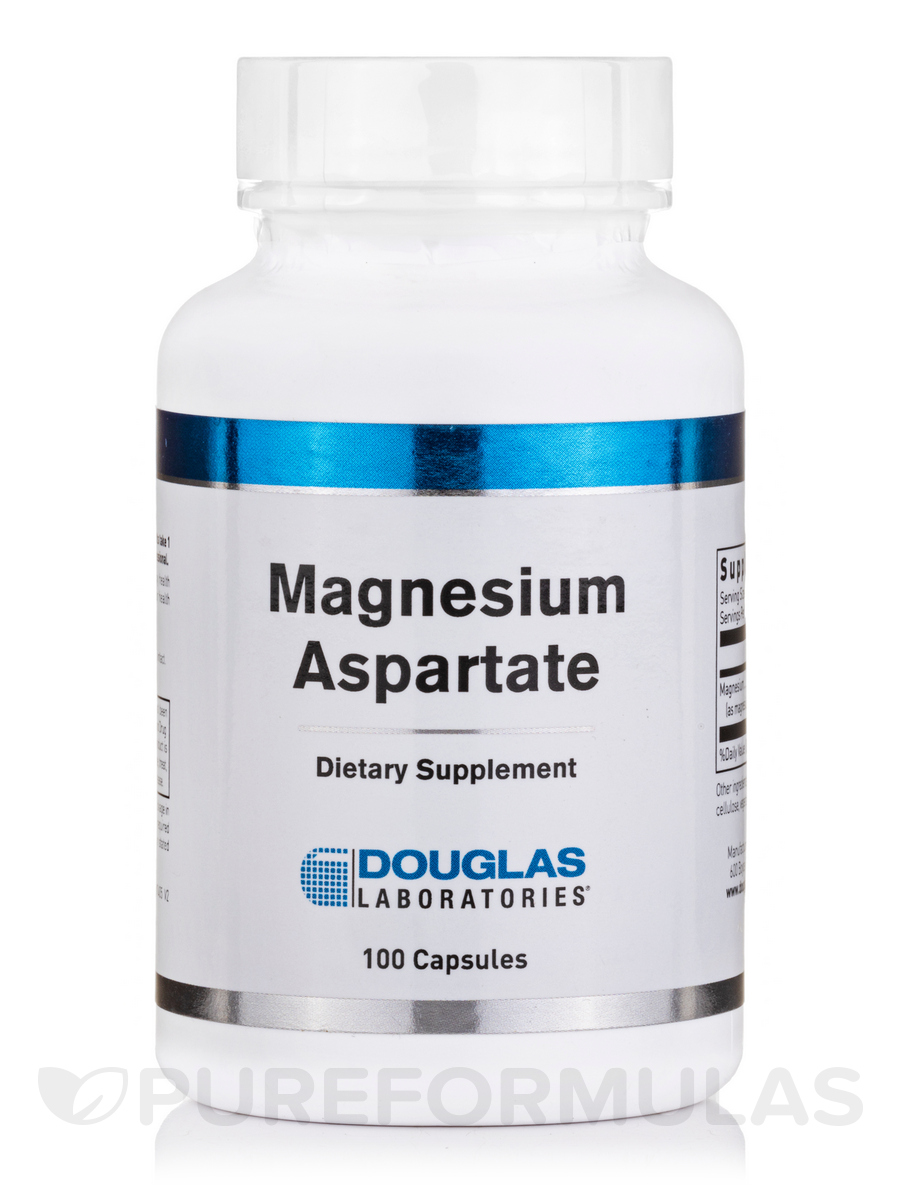 Magnesium Aspartate - 100 Capsules