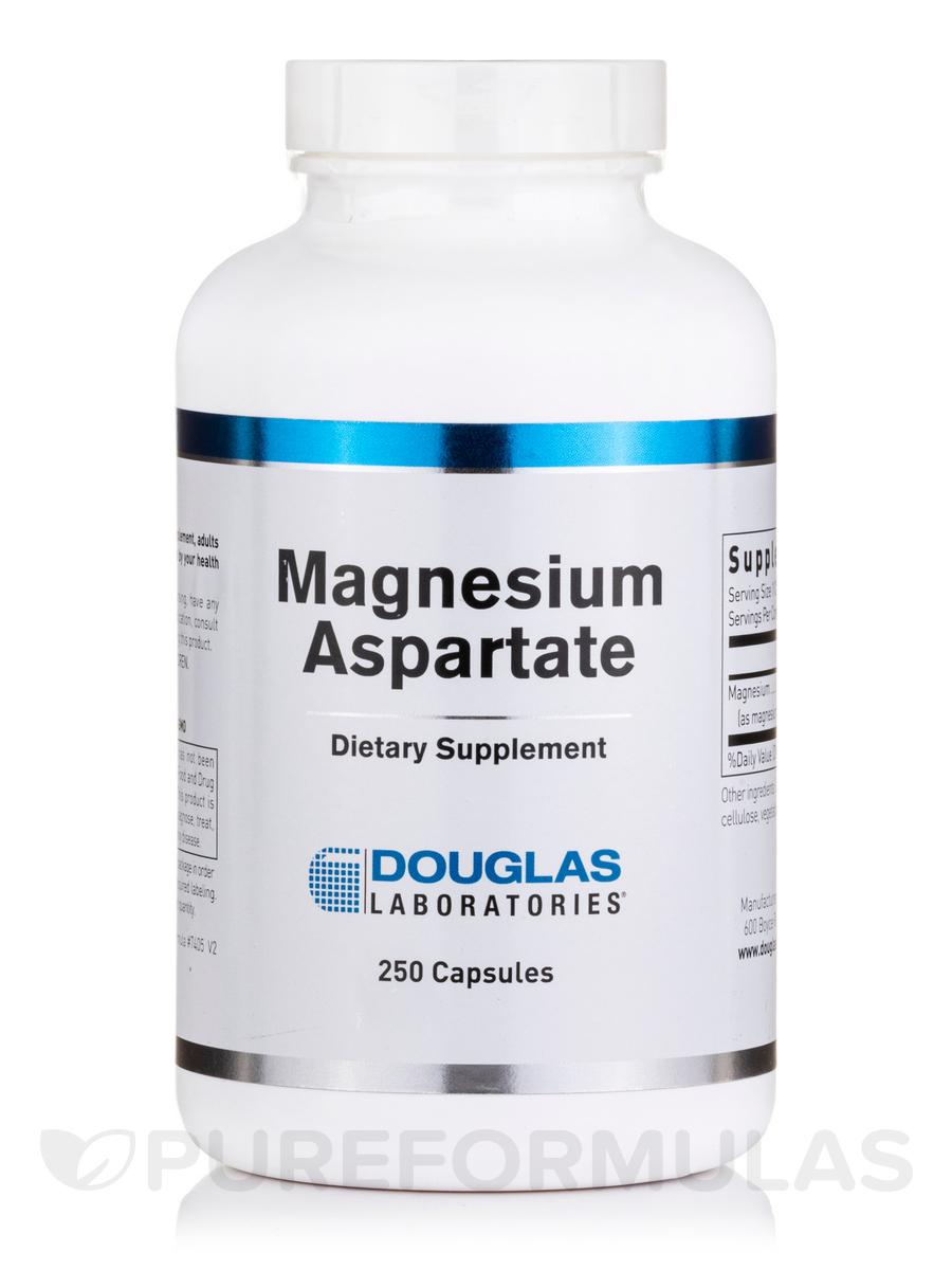 Magnesium Aspartate - 250 Capsules