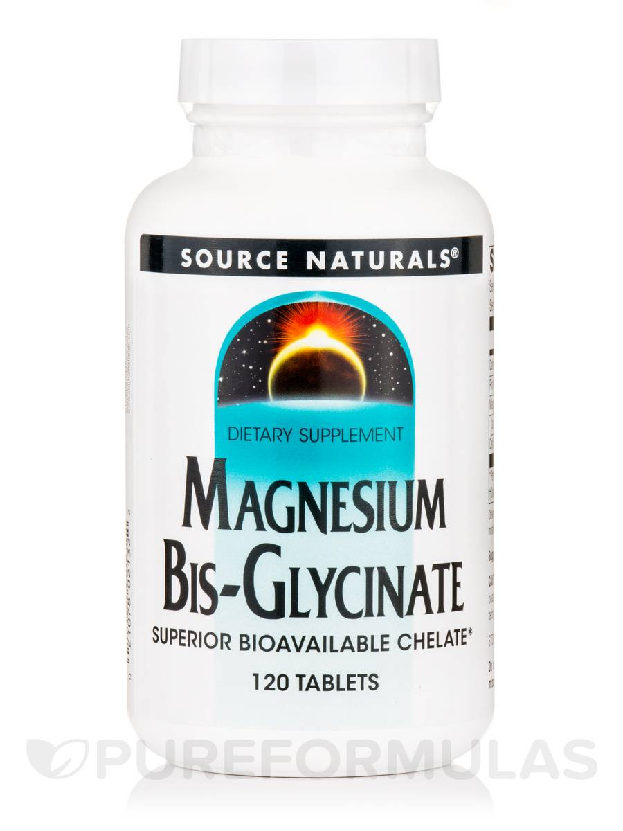 Magnesium Bis-Glycinate - 120 Tablets