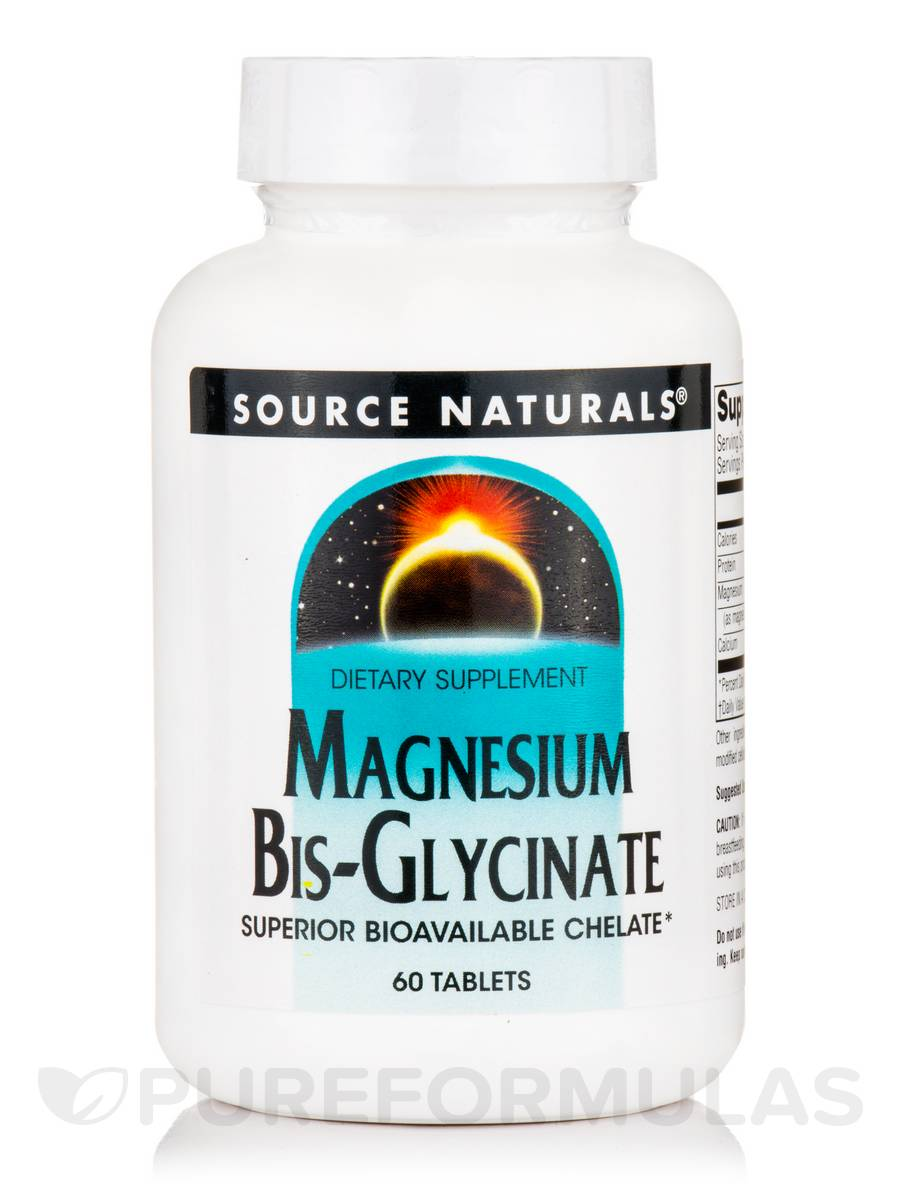 Magnesium Bis-Glycinate - 60 Tablets