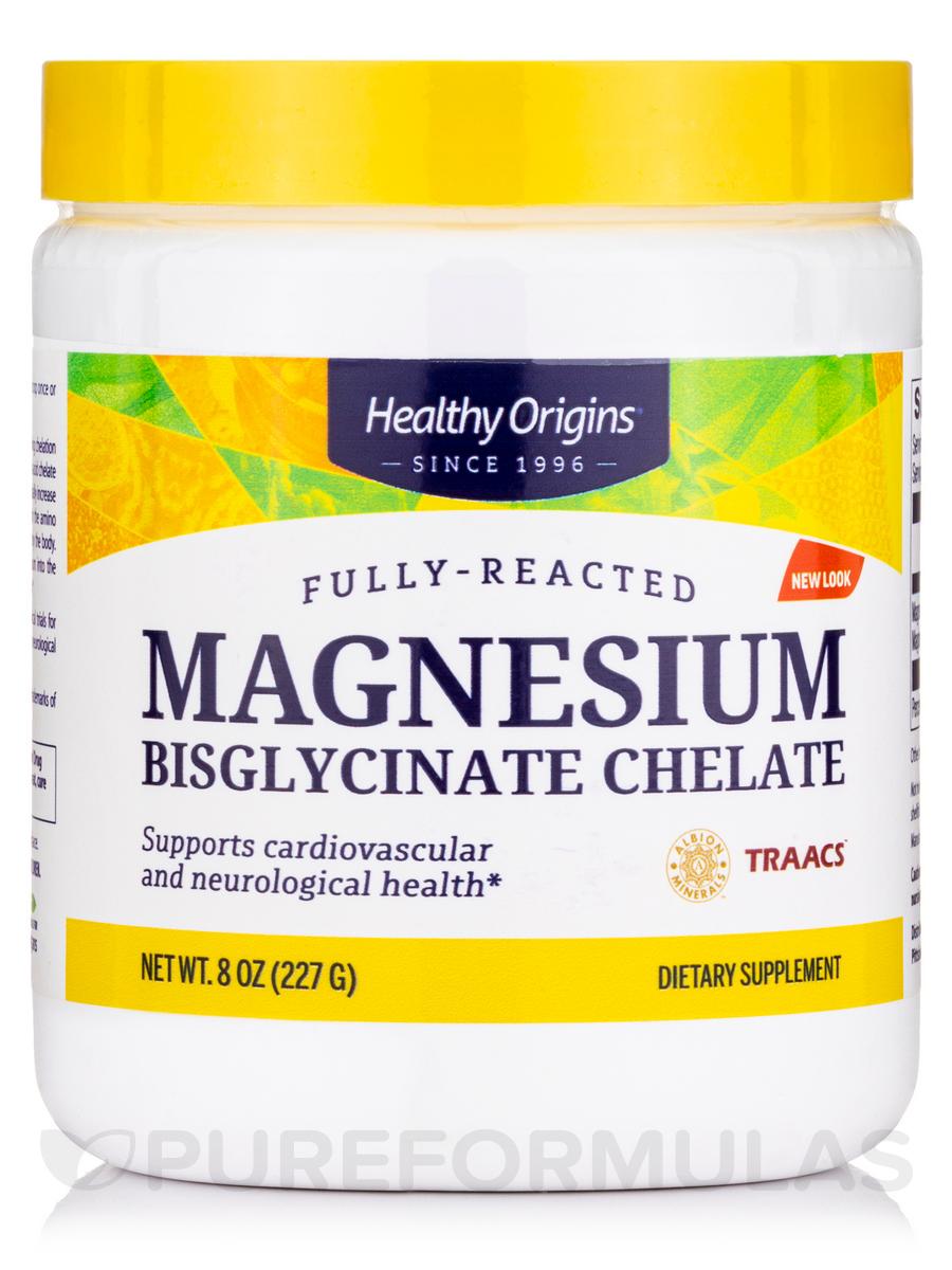 Magnesium Bisglycinate Chelate (TRAACS®) - 8 oz (227 Grams)