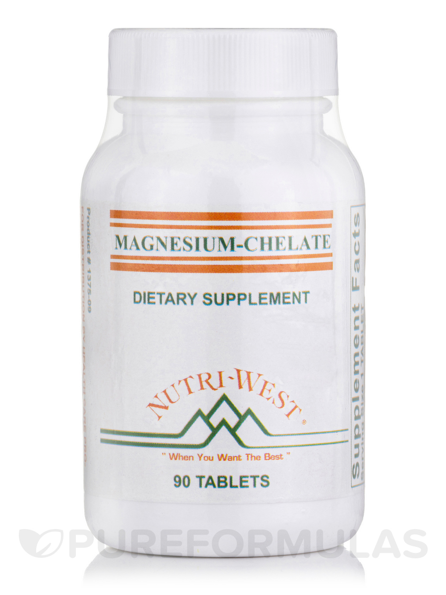 Magnesium Chelate - 90 Tablets