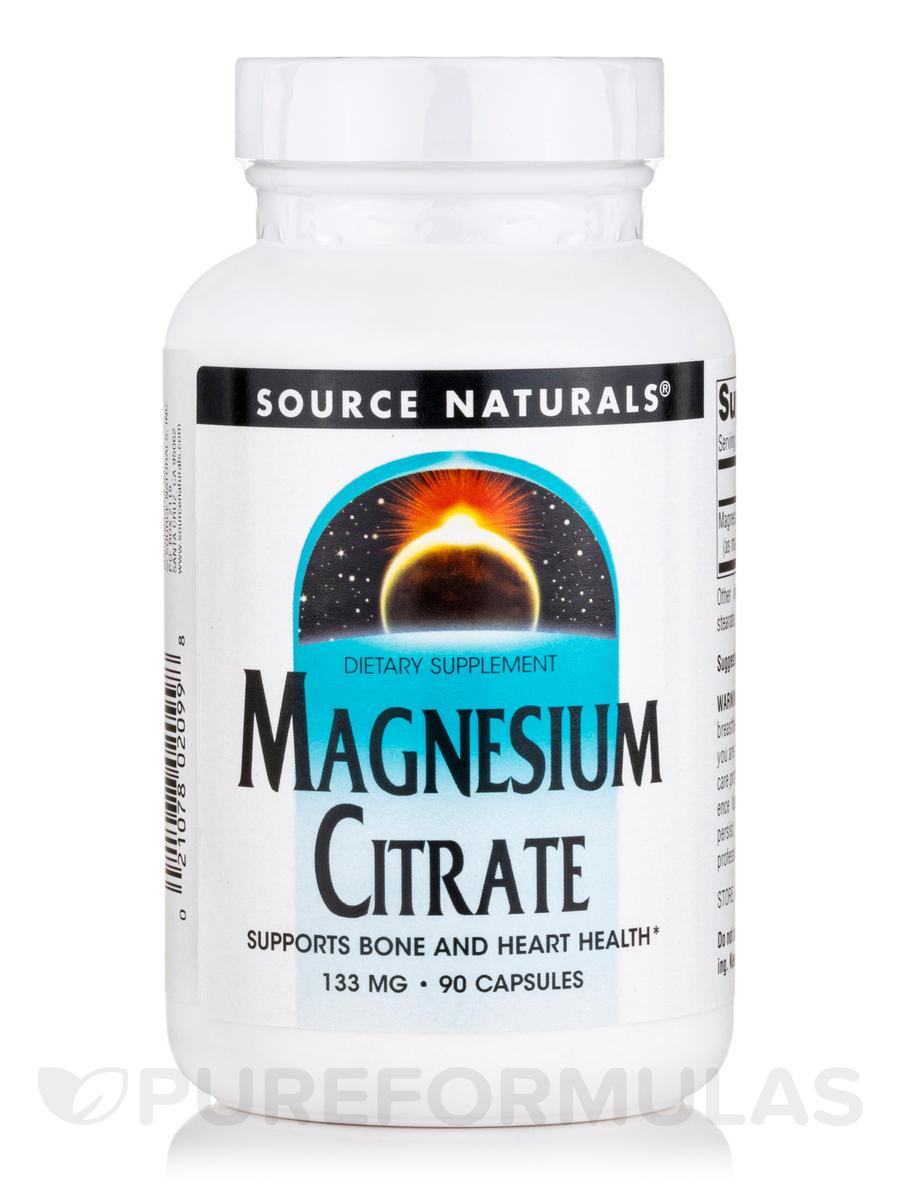 Magnesium Citrate 133 mg - 90 Capsules