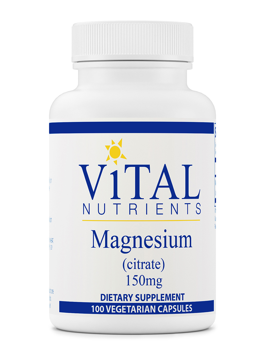 Magnesium (Citrate) 150 mg - 100 Capsules