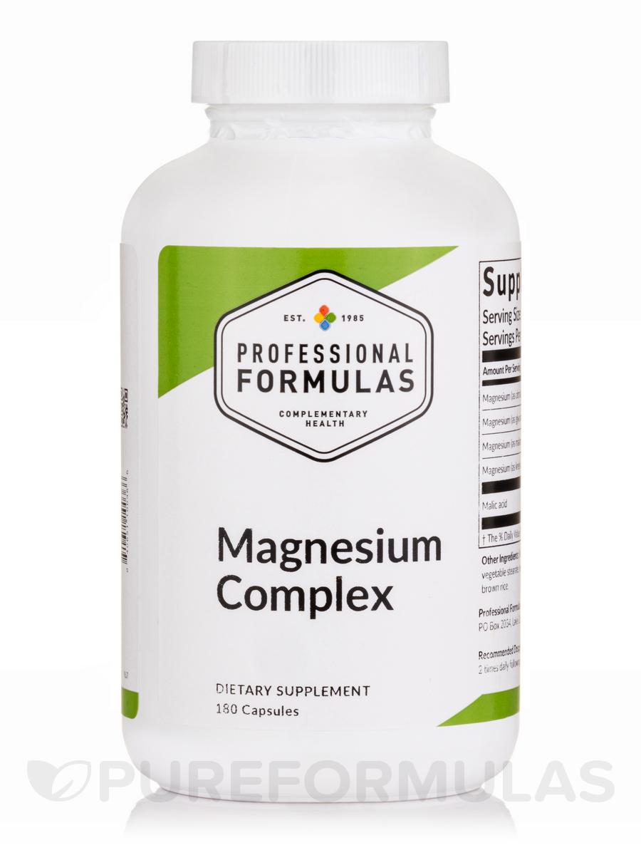 Magnesium Complex - 180 Capsules