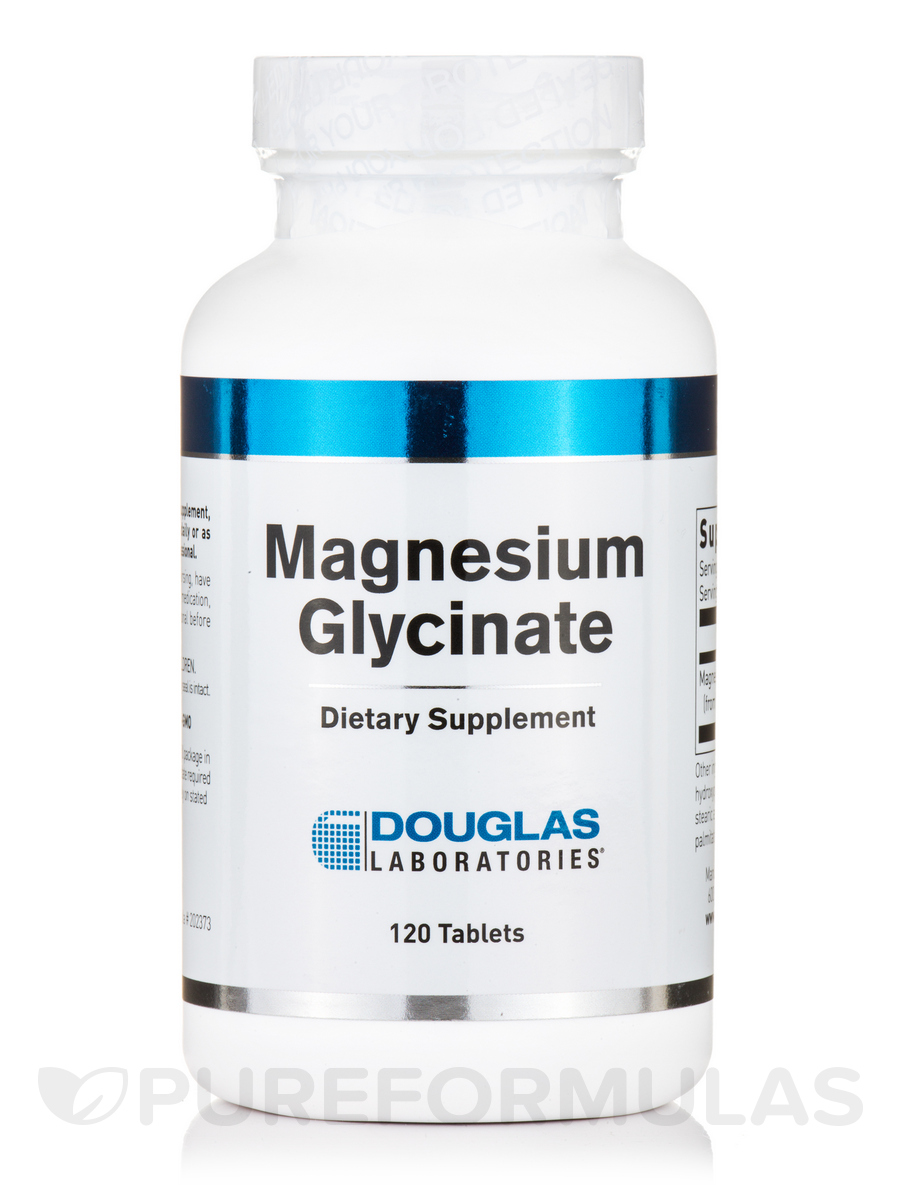 Magnesium Glycinate - 120 Tablets