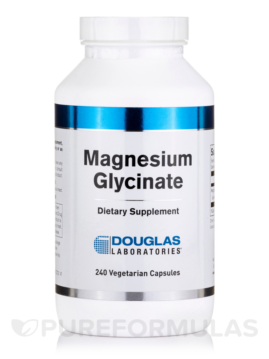Magnesium Glycinate - 240 Tablets