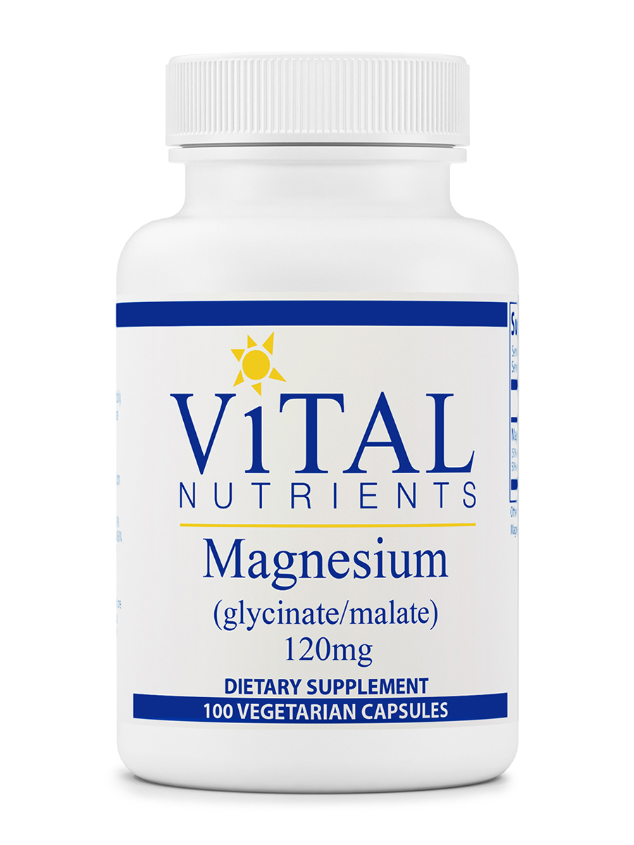 Magnesium (glycinate/malate) 120 mg - 100 Capsules