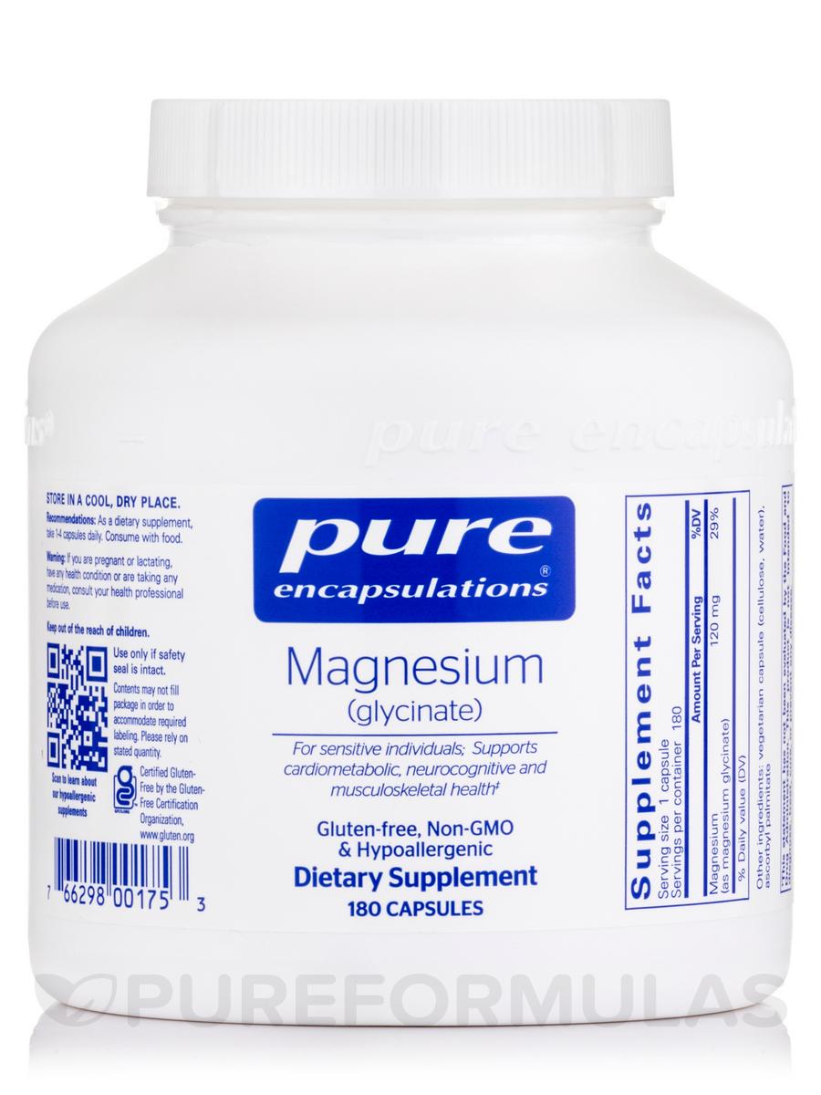 Magnesium (glycinate) - 180 Capsules