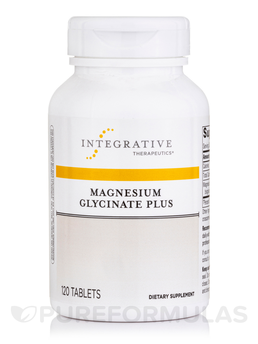 Magnesium Glycinate Plus - 120 Tablets