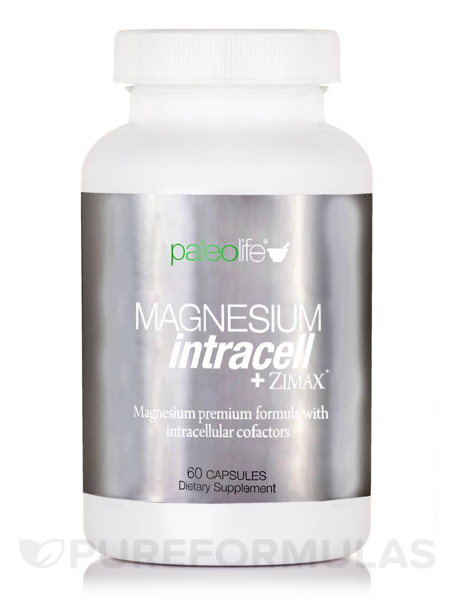 Magnesium Intracell + Zimax® - 60 Capsules