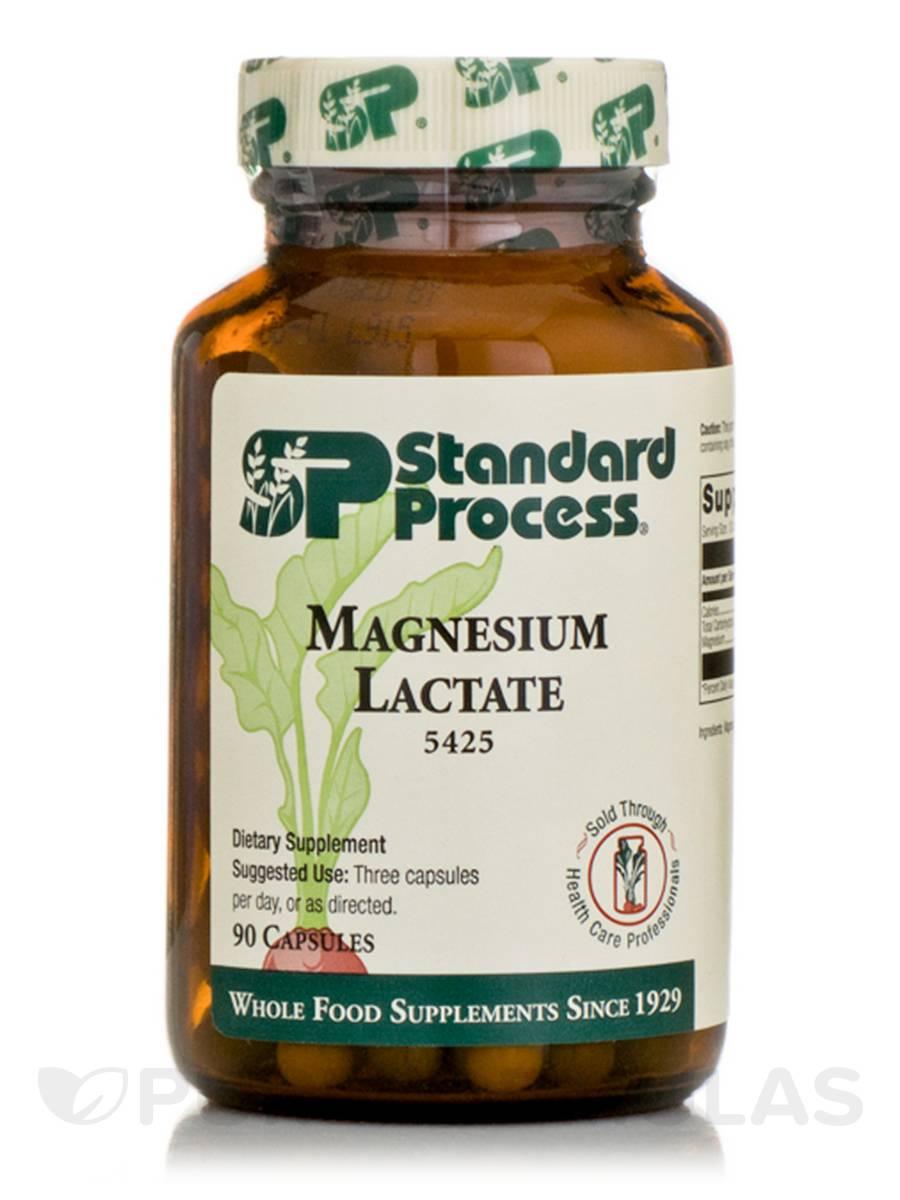 Magnesium Lactate - 90 Capsules