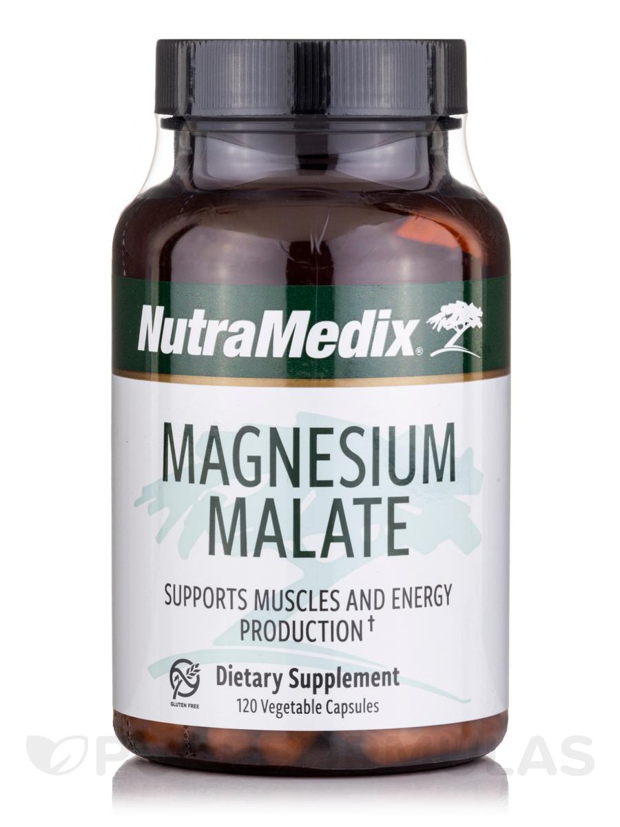 Magnesium Malate - 120 Vegetable Capsules