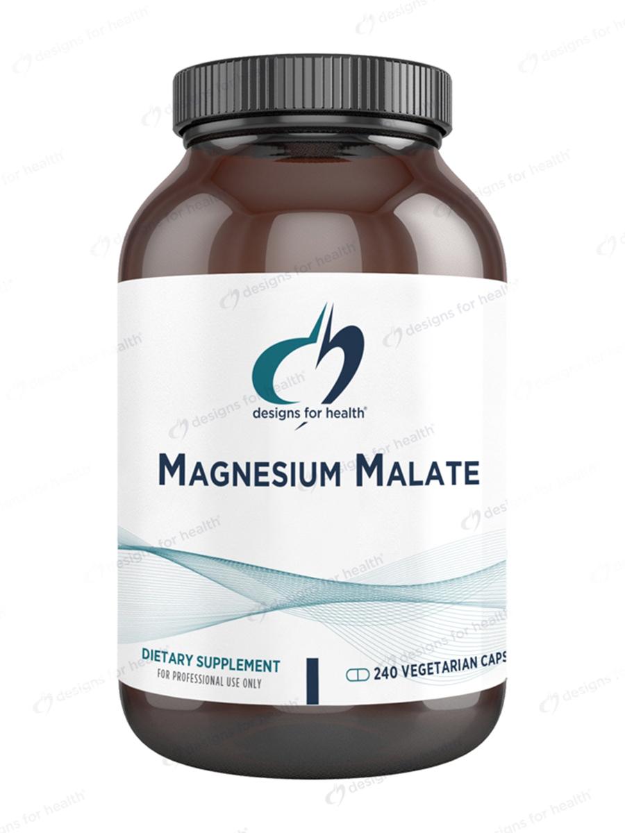 Magnesium Malate - 240 Vegetarian Capsules