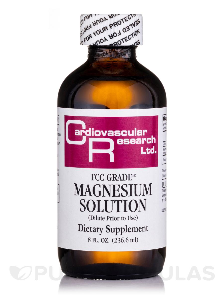 Magnesium Solution - 8 fl. oz (236.6 ml)
