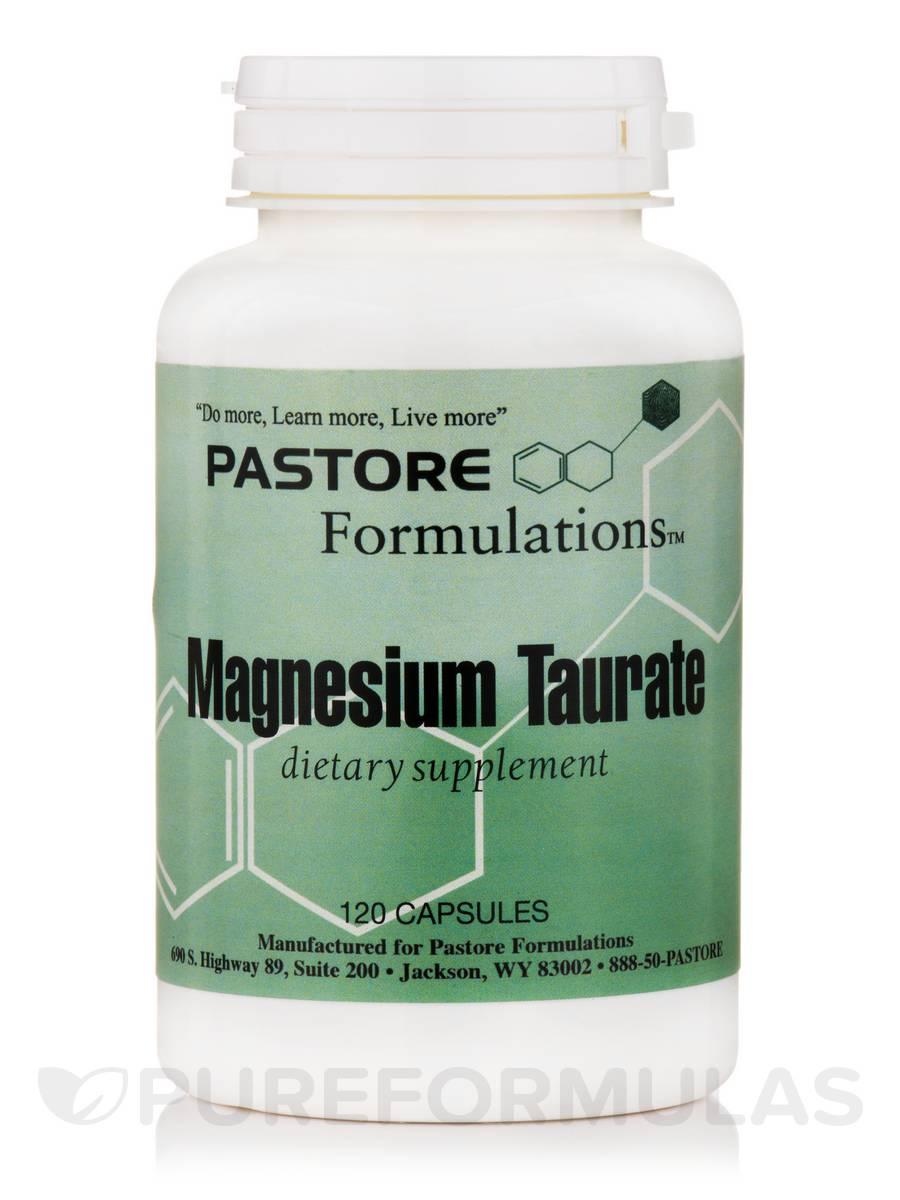 Magnesium Taurate - 120 Capsules
