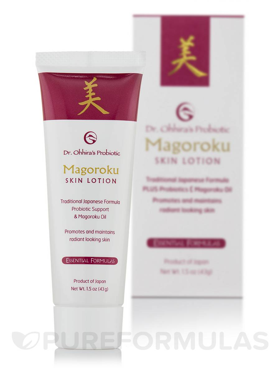 Dr. Ohhira's Magoroku Skin Lotion™ - 1.5 oz (43 Grams)