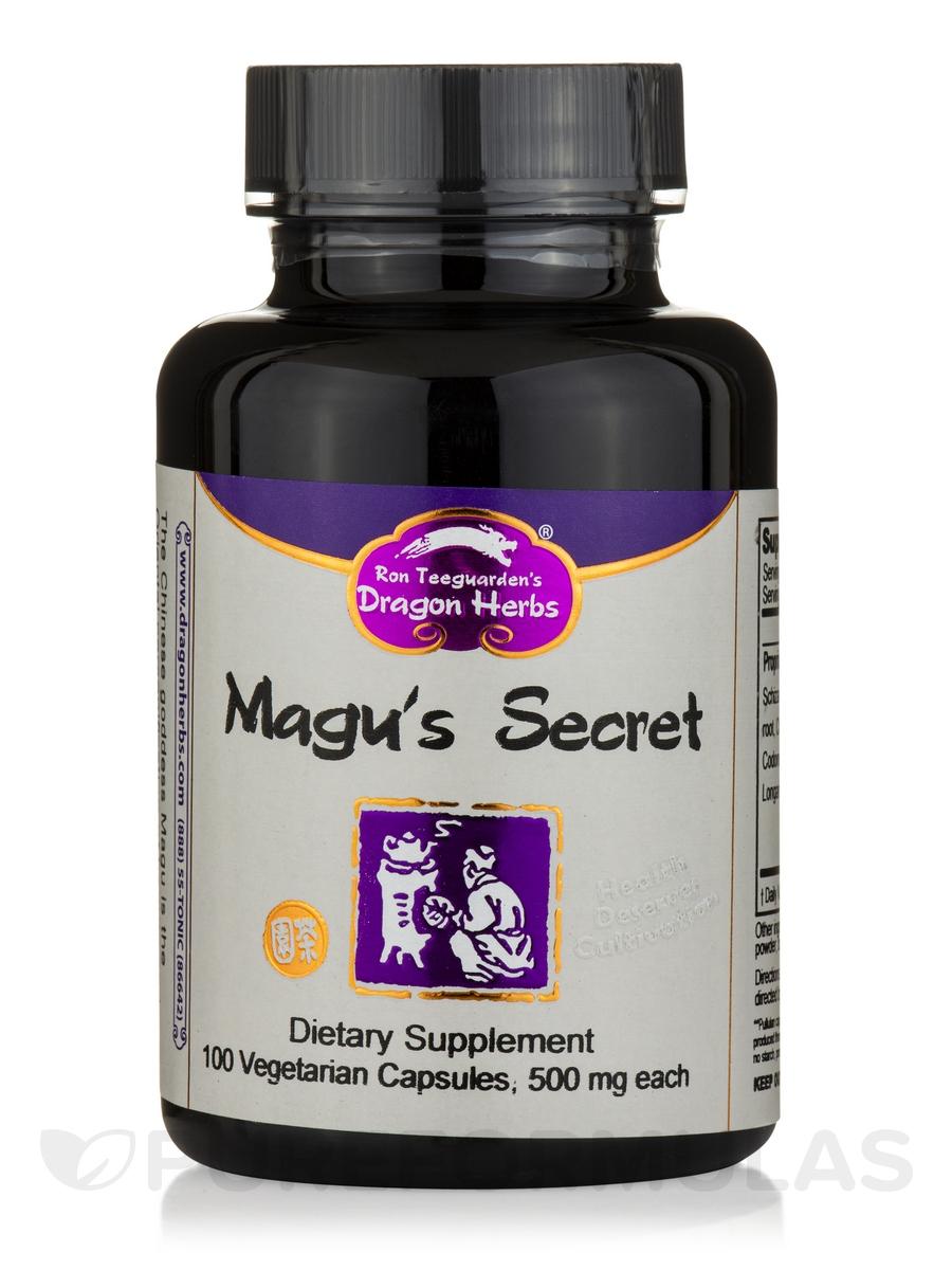 Magu's Secret - 100 Vegetarian Capsules