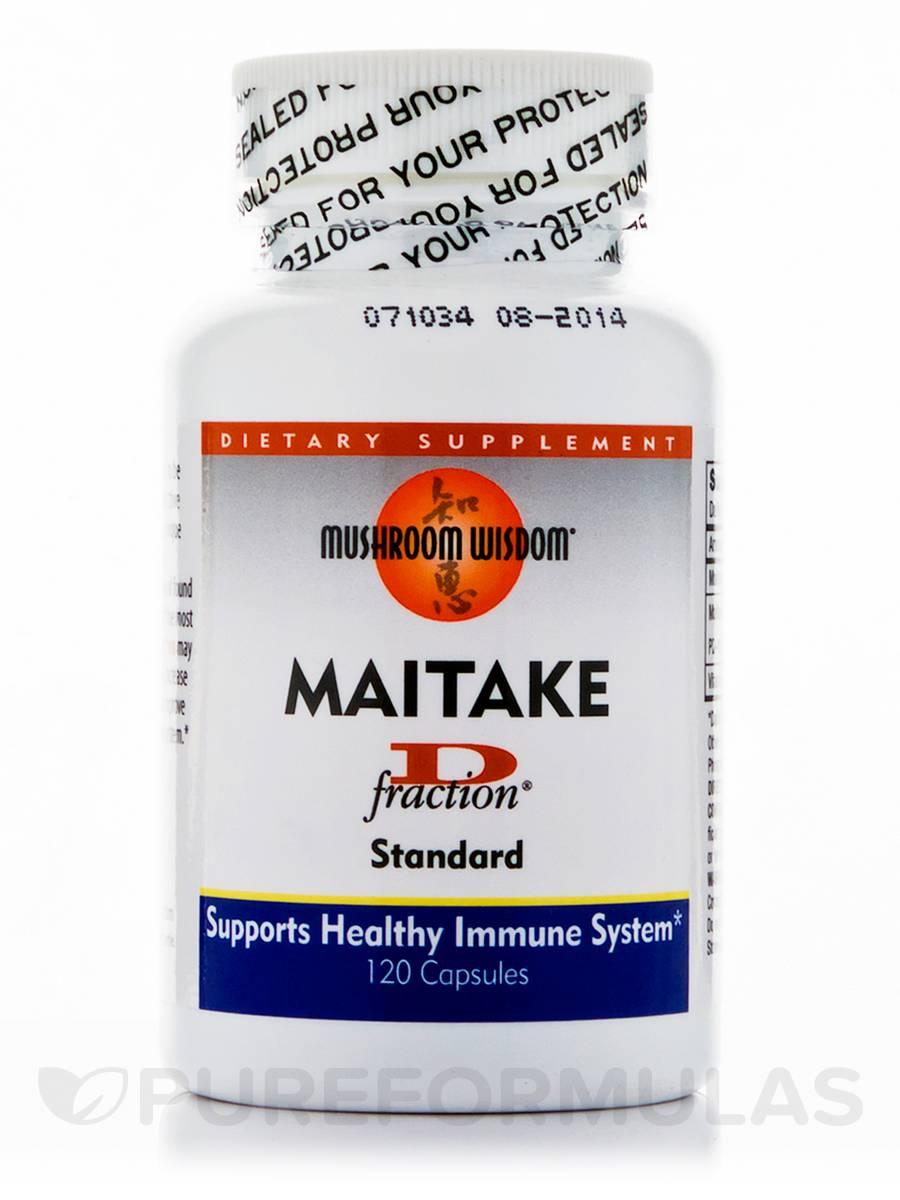 Maitake D-fraction Standard - 120 Capsules