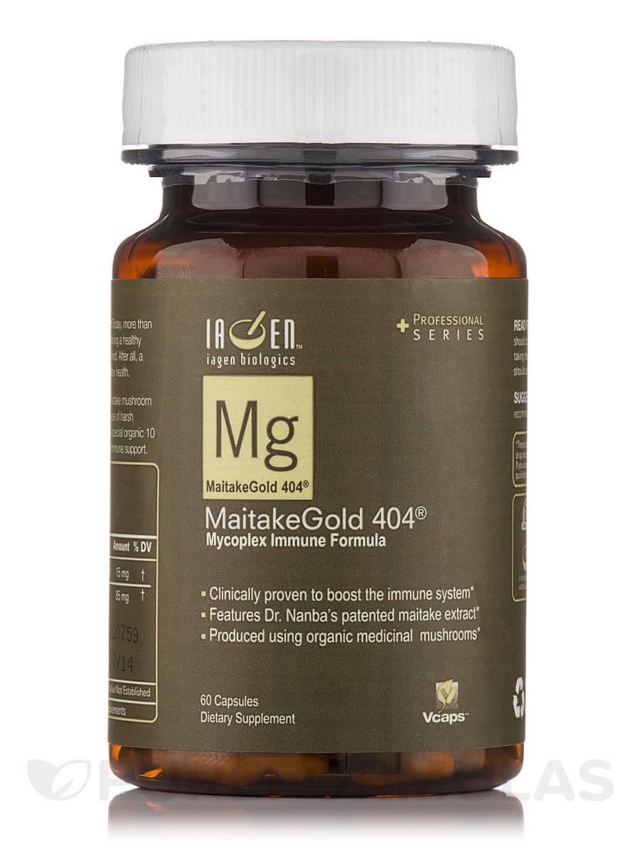 MaitakeGold 404 - 60 Capsules