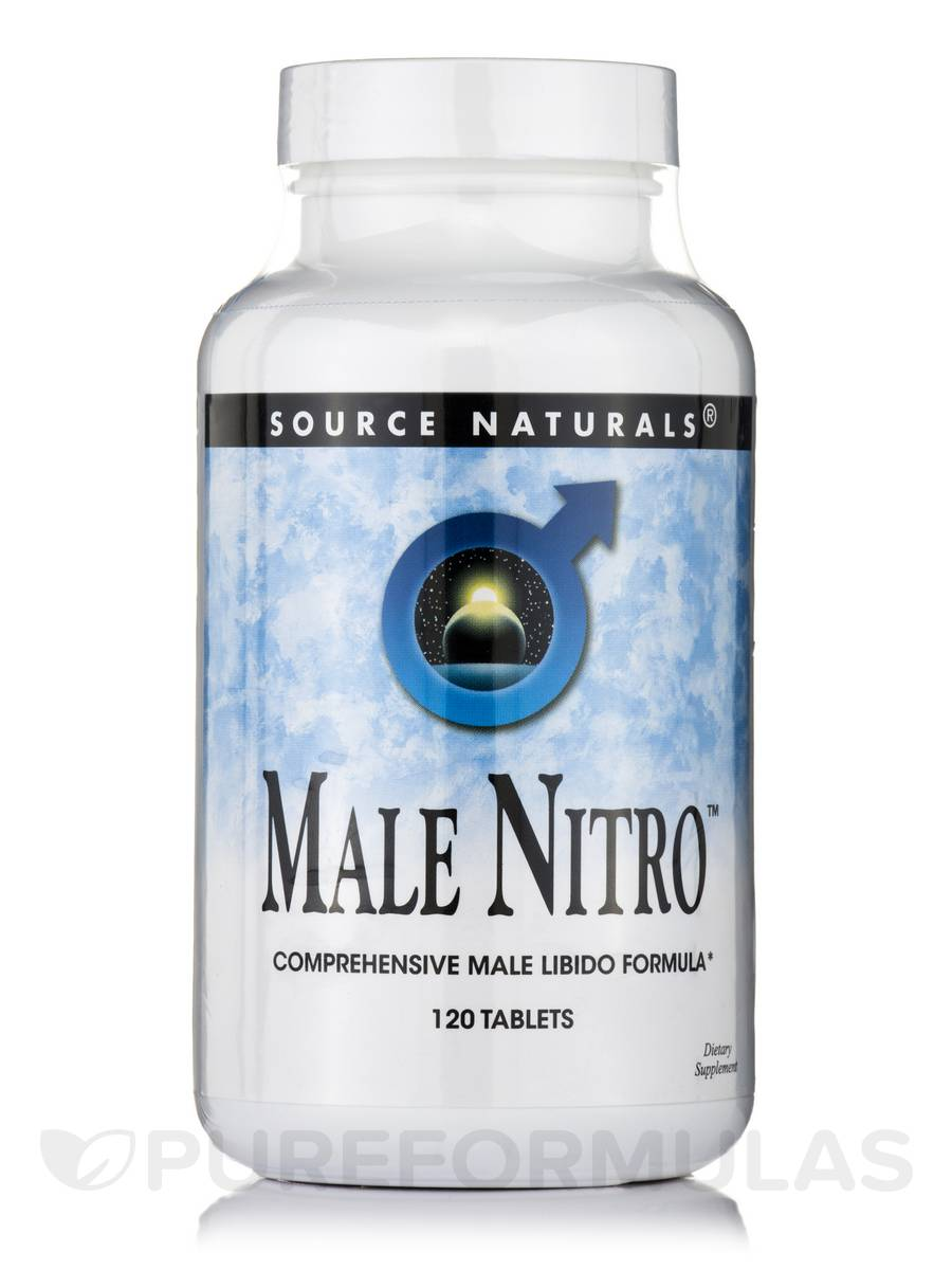 Male Nitro™ - 120 Tablets