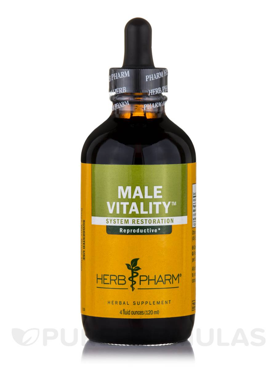 Male Sexual Vitality Tonic Compound - 4 fl. oz (120 ml)