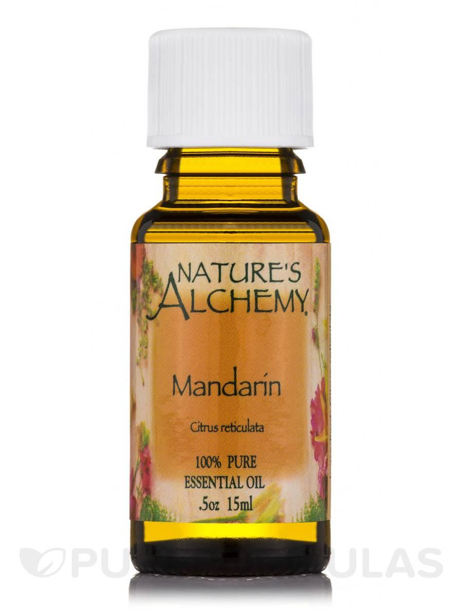 Mandarin Essential Oil - 0.5 oz (15 ml)