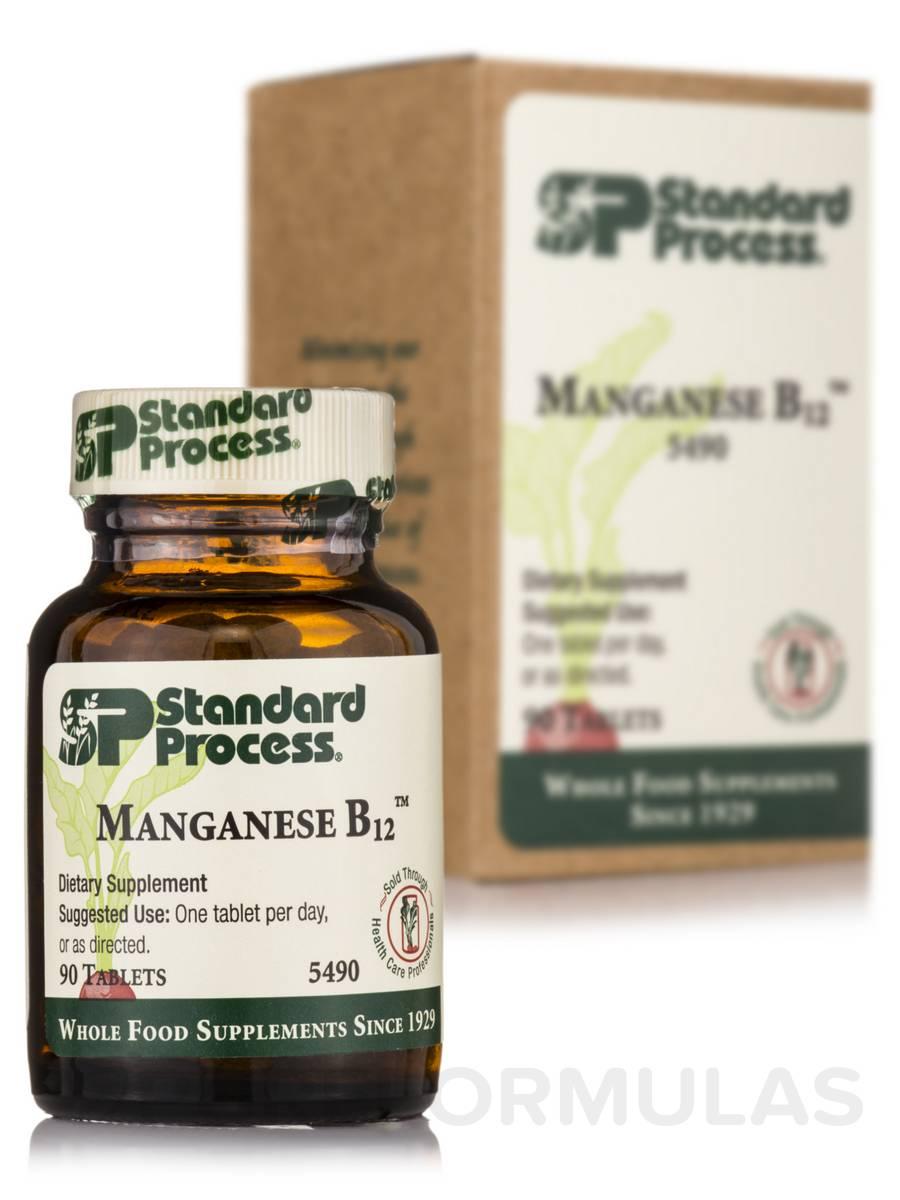 Manganese B12™ - 90 Tablets