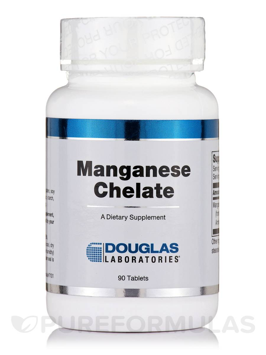 Manganese Chelate - 90 Tablets