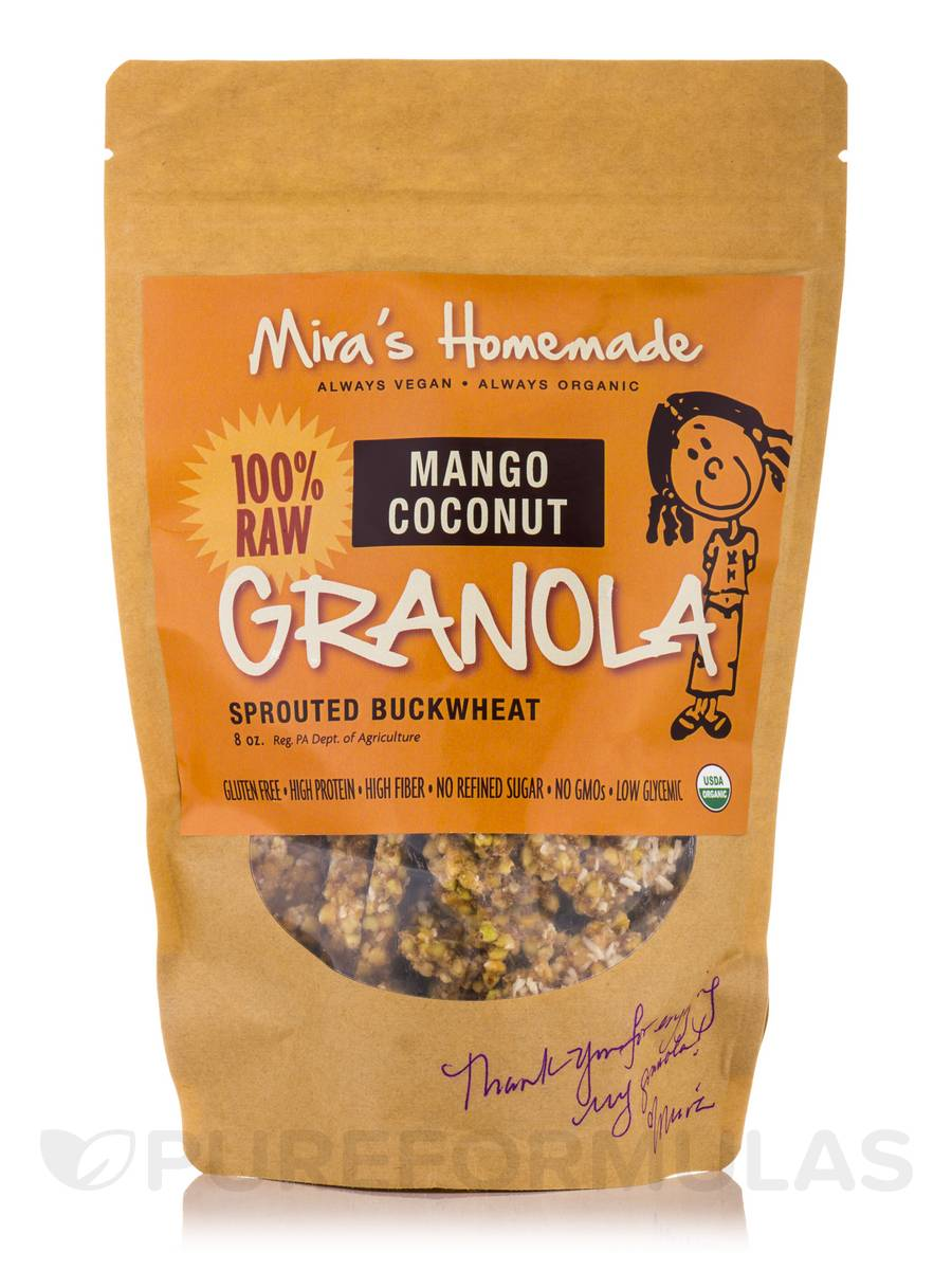 Mango-Coconut Granola (Sprouted Buckwheat) - 8 oz