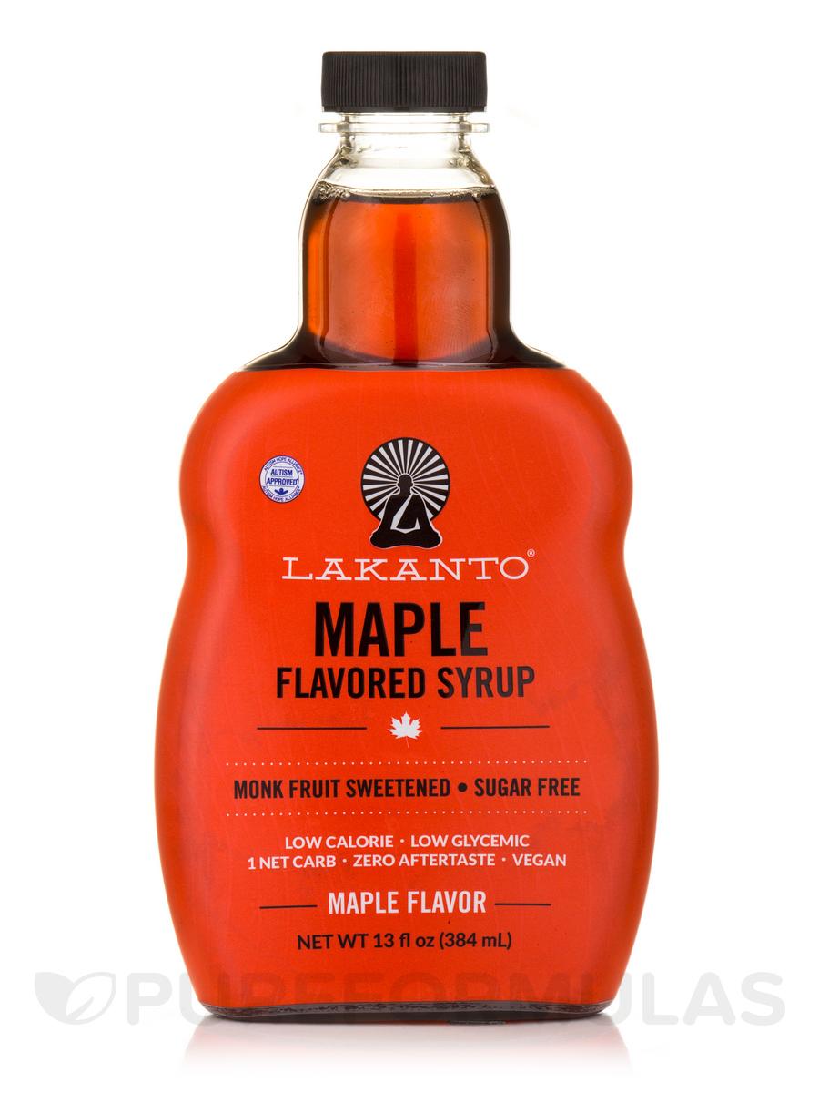 Maple Flavored Sugar-Free Syrup - 13 fl. oz (384 ml)