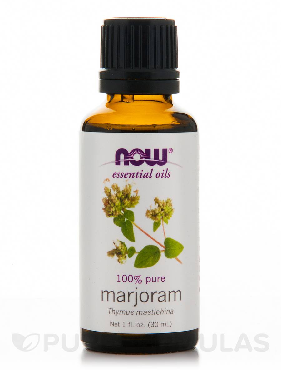 NOW® Essential Oils - Marjoram Oil - 1 fl. oz (30 ml)