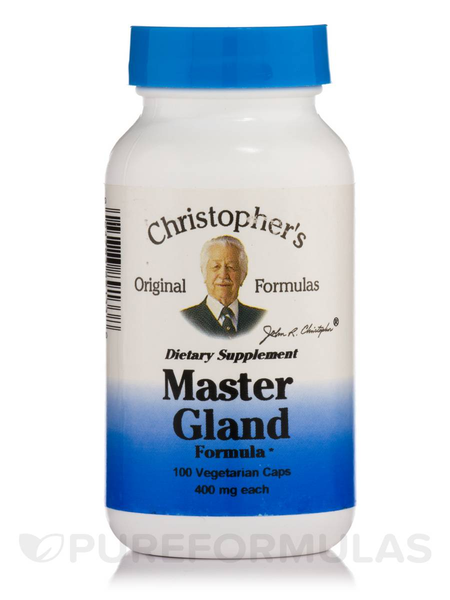 Master Gland Formula - 100 Vegetarian Capsules