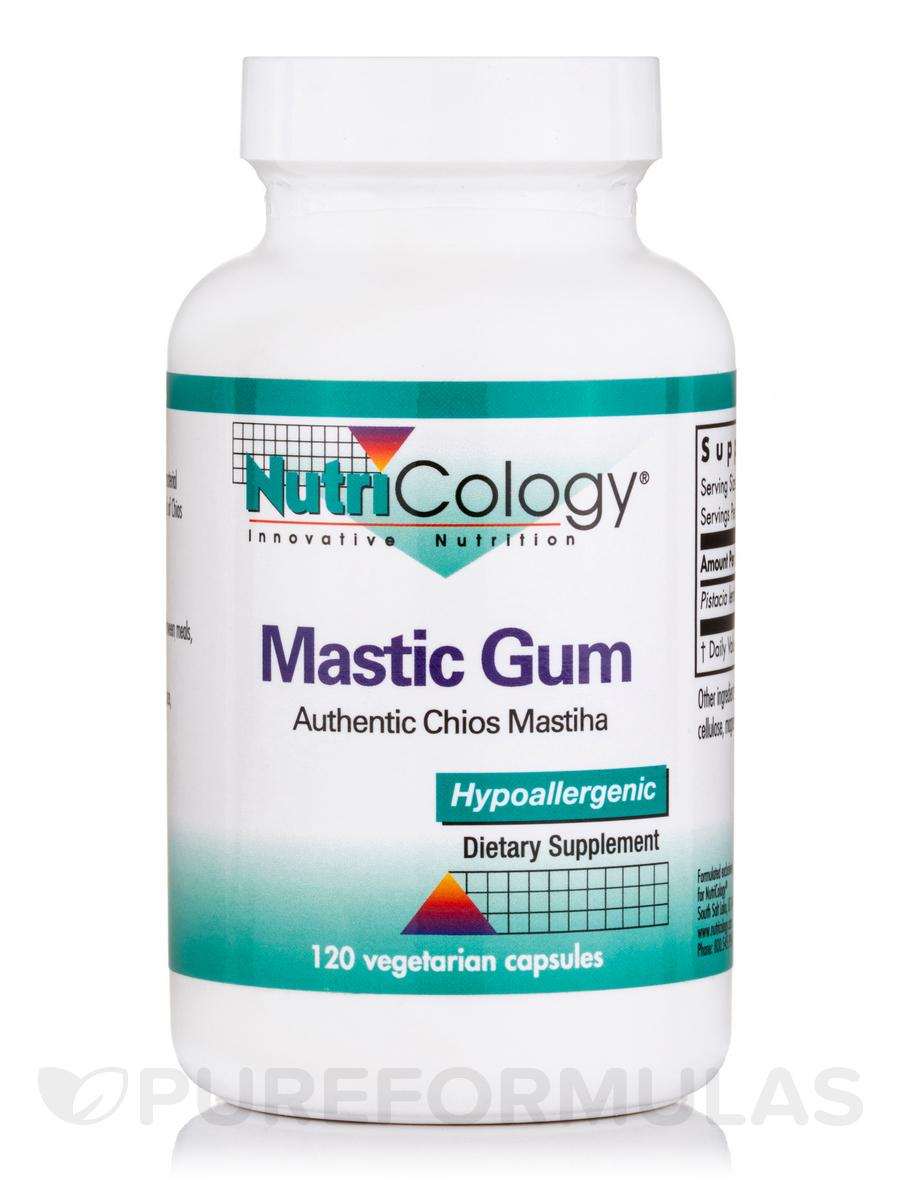 Mastic Gum - 120 Vegetarian Capsules