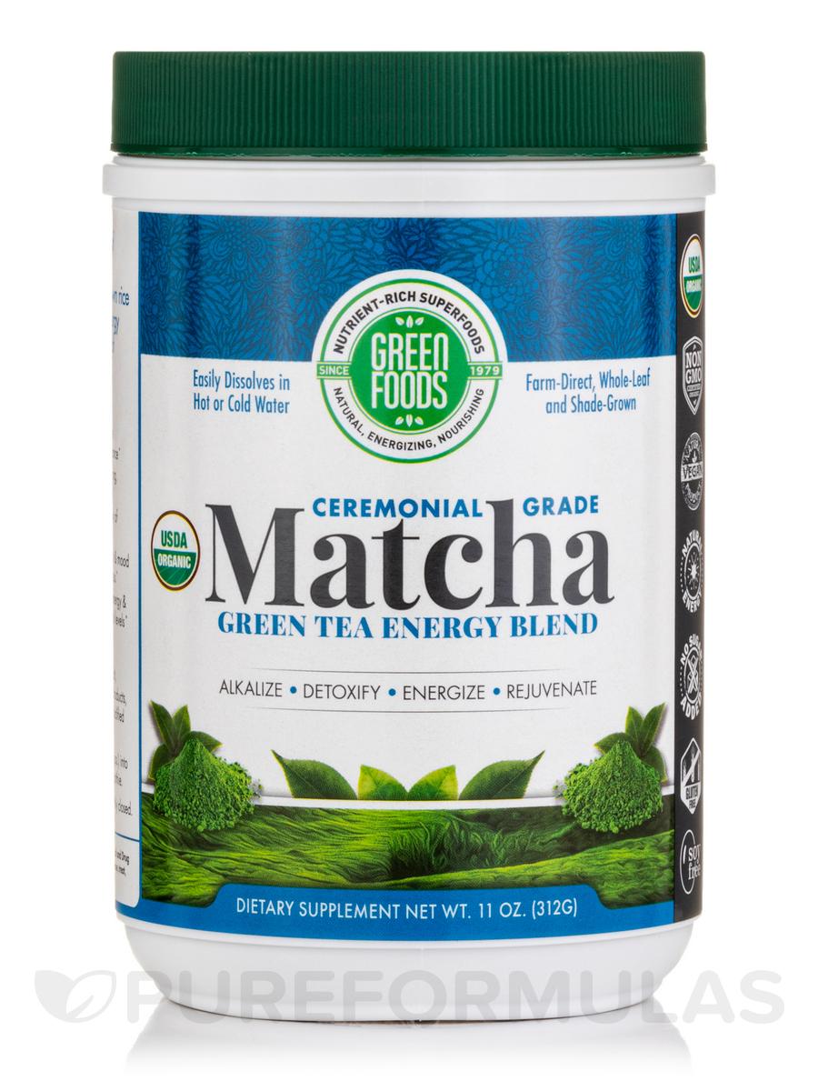 Matcha Green Tea Energy Blend - 11 oz (312 Grams)