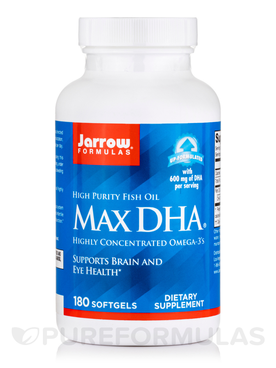 Max DHA® - 180 Softgels