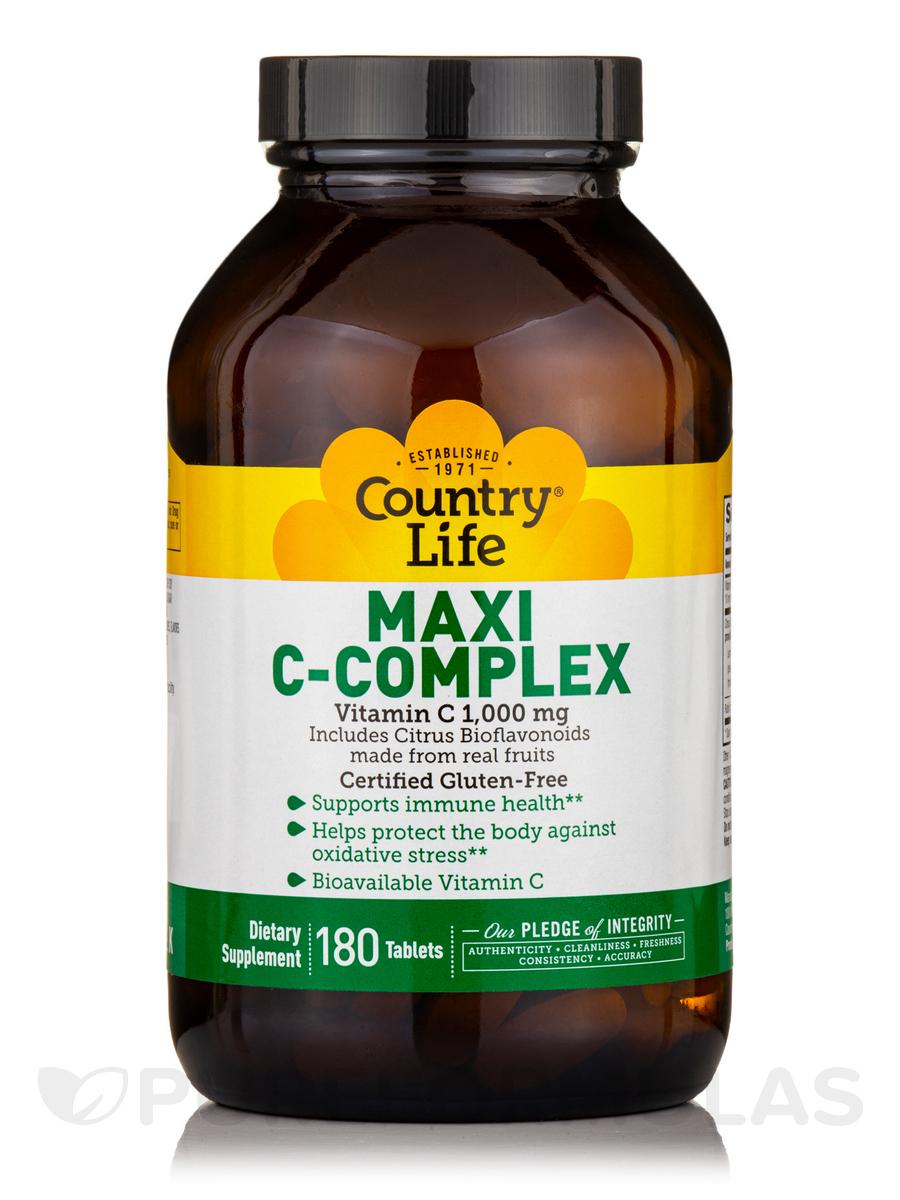 Maxi C-Complex - 180 Tablets
