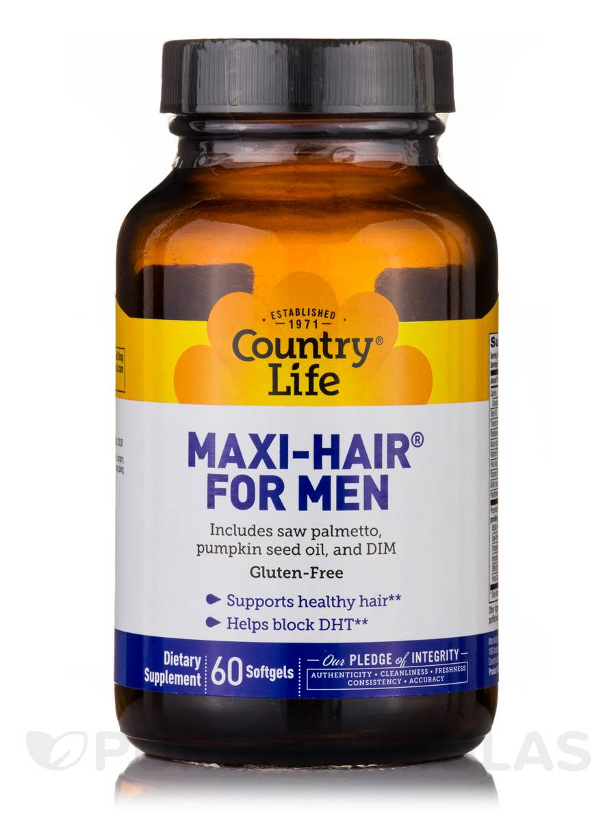 Maxi-Hair® for Men - 60 Softgels