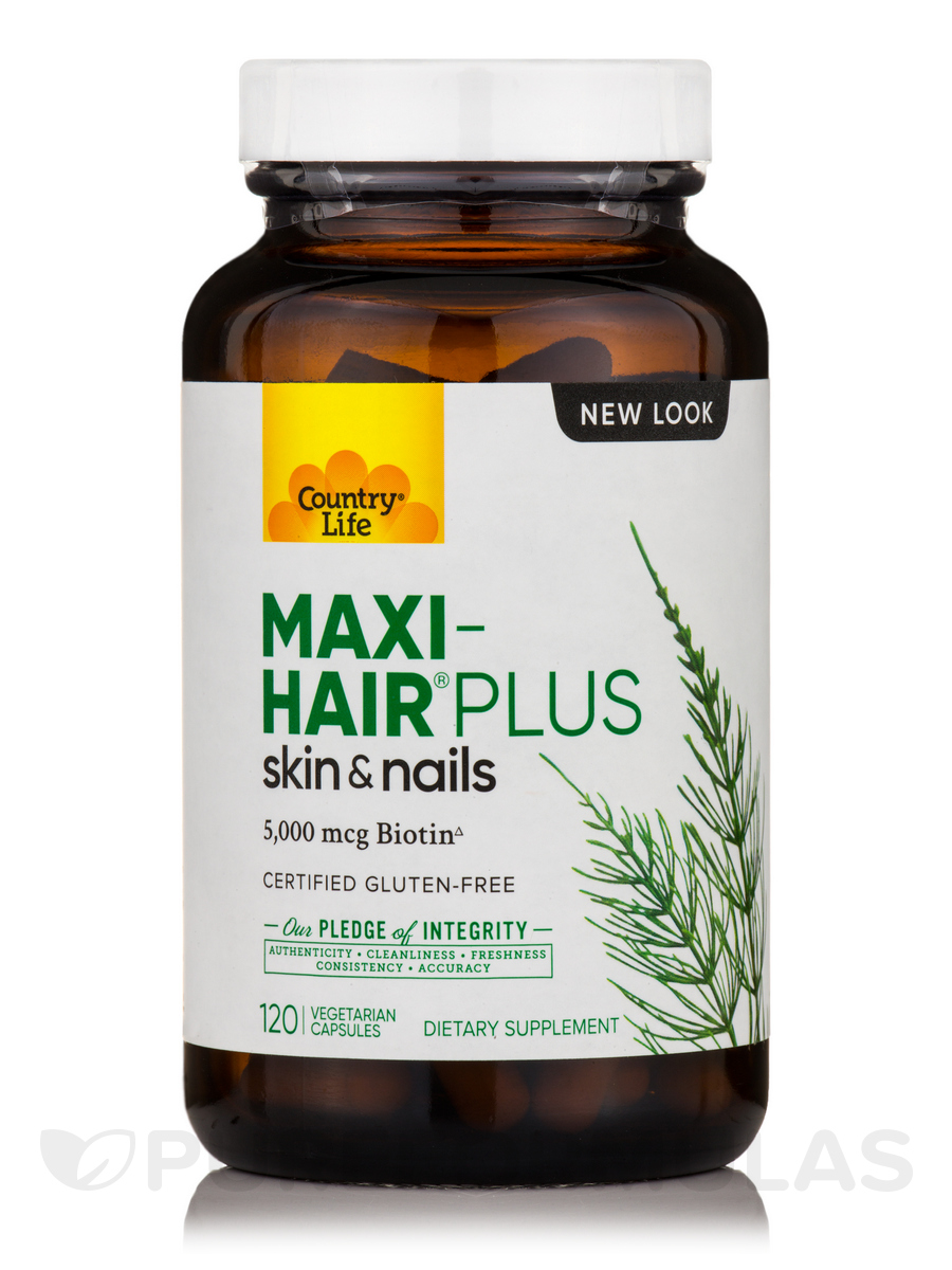 Maxi-Hair® Plus Biotin - 120 Vegetarian Capsules