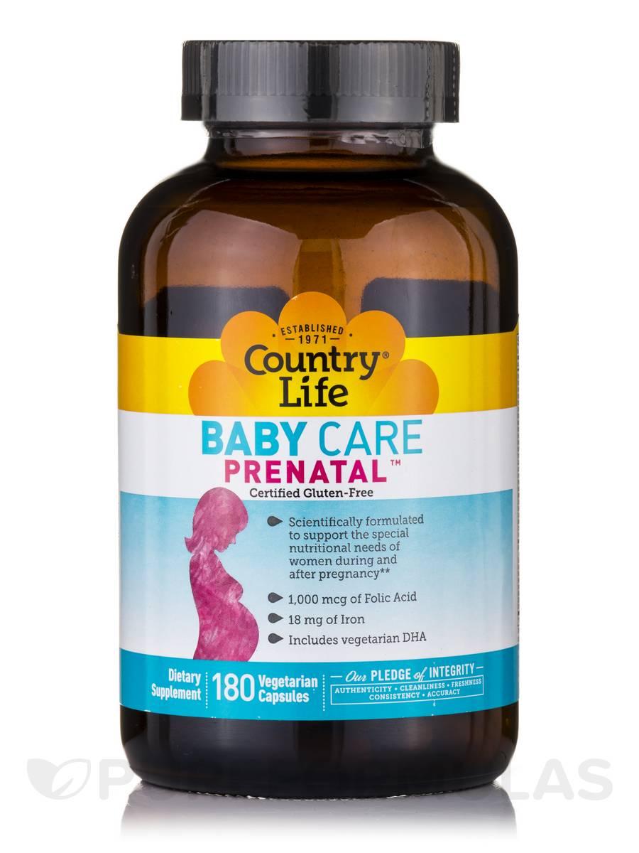Baby Care Prenatal™ - 180 Vegetarian Capsules