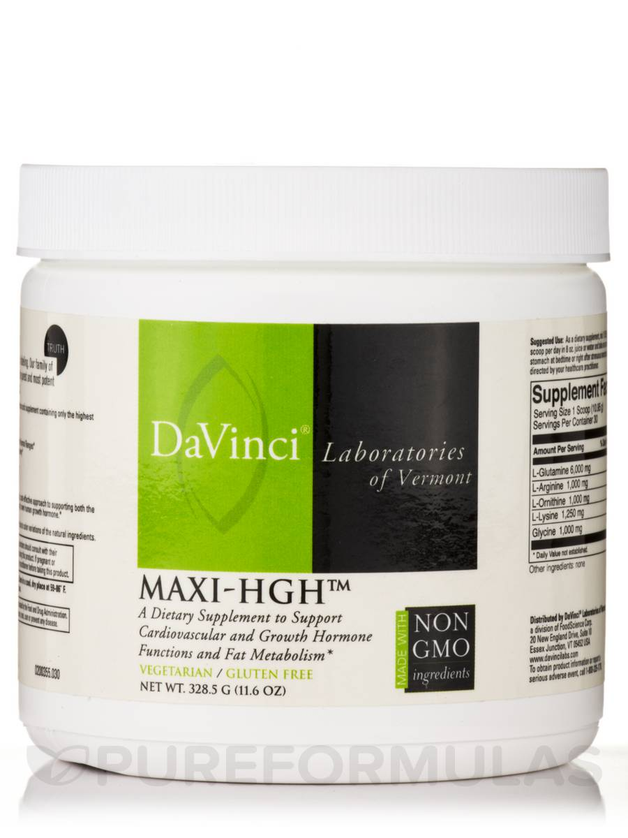 Maxi-HGH™ - 11.6 oz (328.5 Grams)