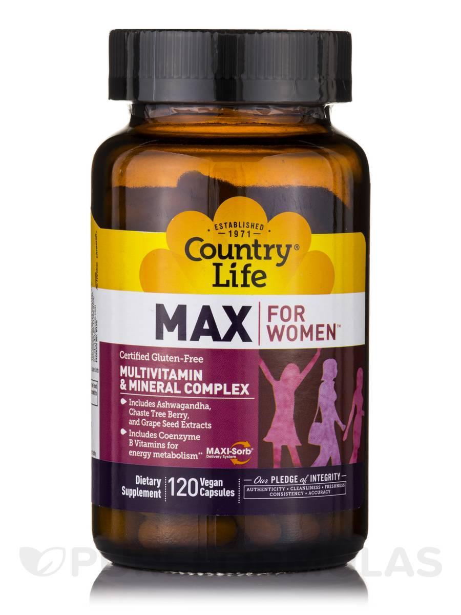 Max for Women - 120 Vegan Capsules