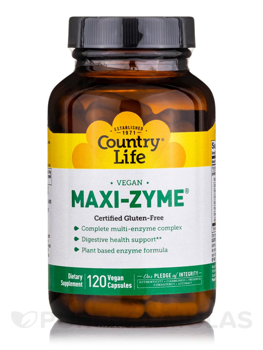 Maxi-Zyme Caps - 120 Vegetarian Capsules