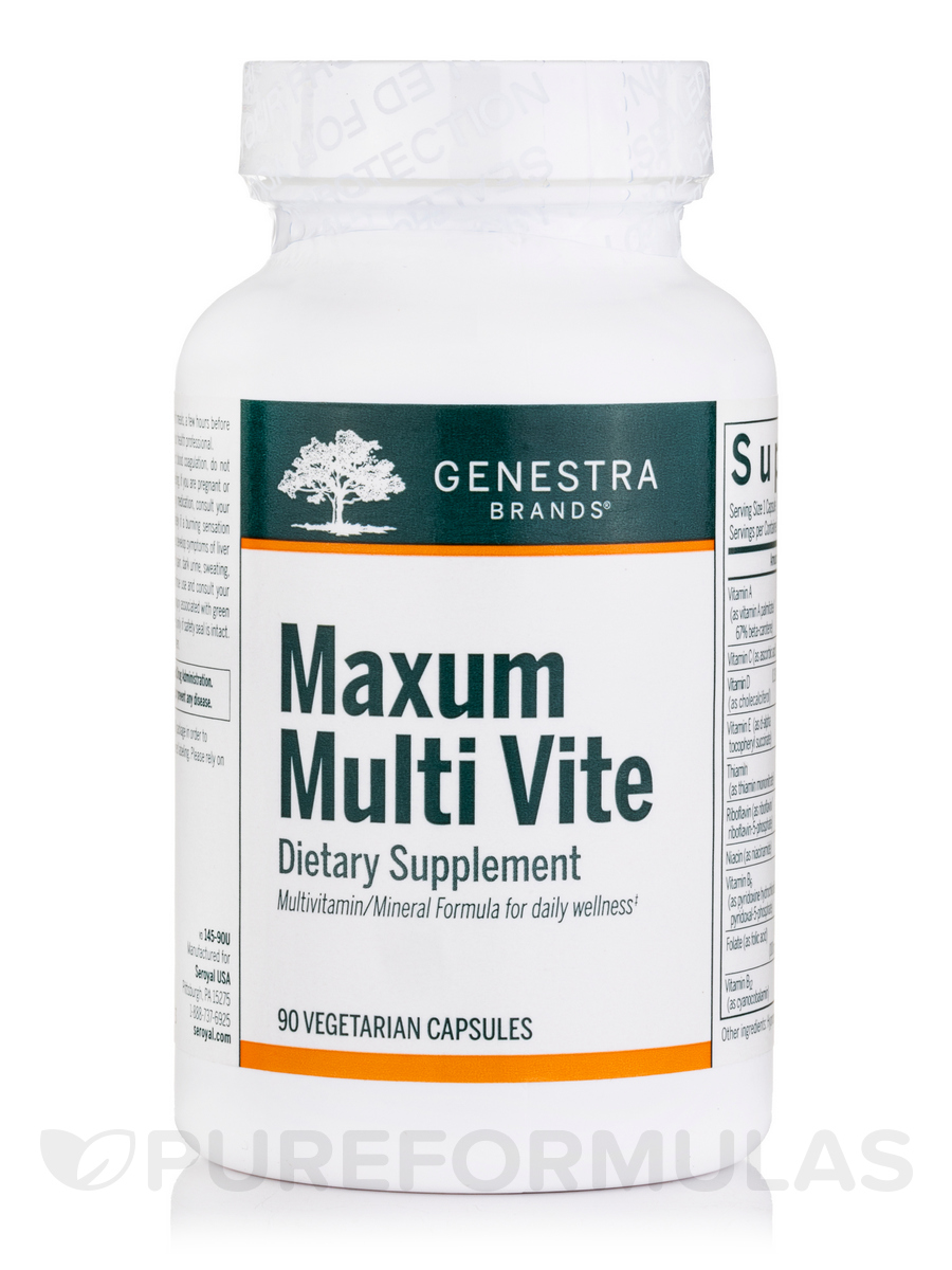 Maxum Multi Vite - 90 Vegetable Capsules